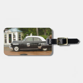 '51 Chevrolet Police Car Luggage Tag