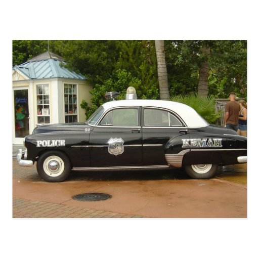 '51 Chevrolet Police Car Postcards
