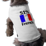 51% French Pet Clothing