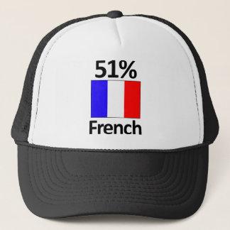 51% French Trucker Hat