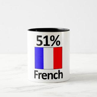 51% French Two-Tone Coffee Mug