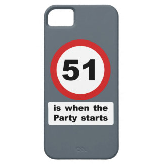 51 is when the Party Starts iPhone SE/5/5s Case