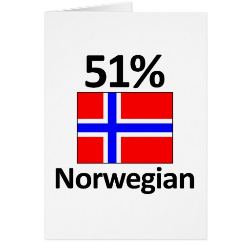 51% Norwegian Card