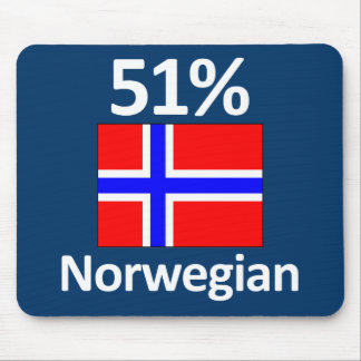 51% Norwegian Mouse Pad