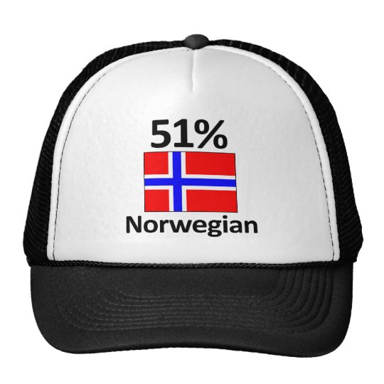 51% Norwegian Trucker Hat