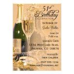 51.o Invitación de la fiesta de cumpleaños