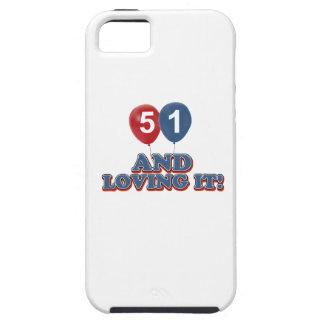 51 years Old birthday designs iPhone SE/5/5s Case