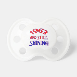 51 years Old birthday designs Pacifiers