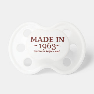 51 years Old birthday designs Pacifier