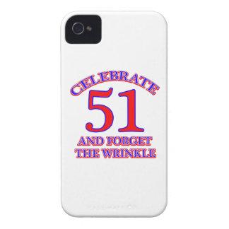 51Birthday Design Case-Mate iPhone 4 Case