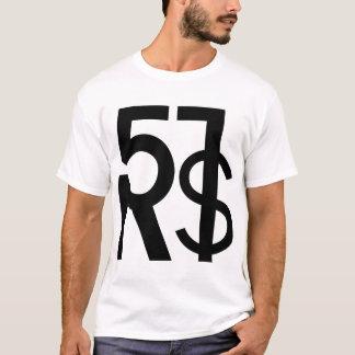 51RS logo clean white T-shirt