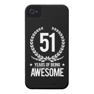51st Birthday (51 Years Of Being Awesome) iPhone 4 Cover