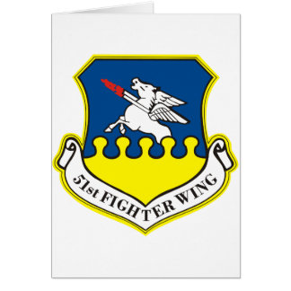 51st Fighter Wing Card