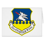 51st Fighter Wing Greeting Card
