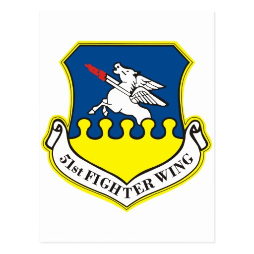 51st Fighter Wing Post Card