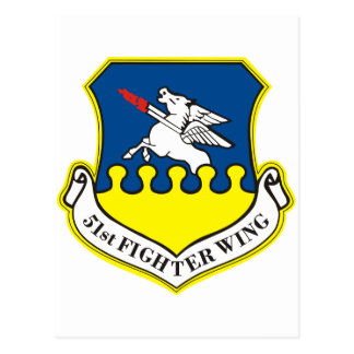 51st Fighter Wing Postcard