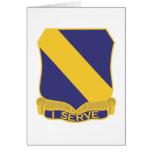 51st Infantry Regiment Greeting Card