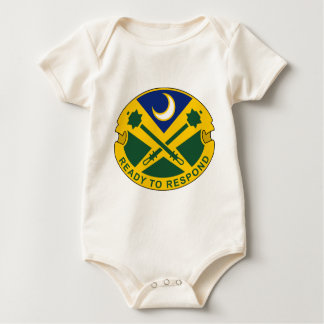 51st Military Police Battalion - Ready To Respond Baby Bodysuits