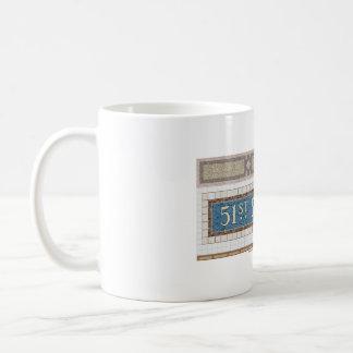 51st Street New York Subway Mosaic Coffee Mug