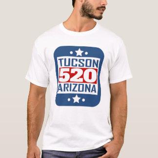 520 Tucson AZ Area Code T-Shirt