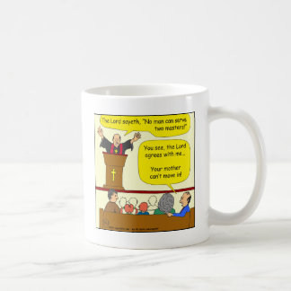 522 preist agrees with me cartoon coffee mug