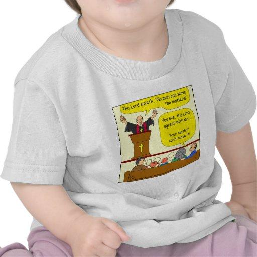 522 preist agrees with me cartoon tshirt