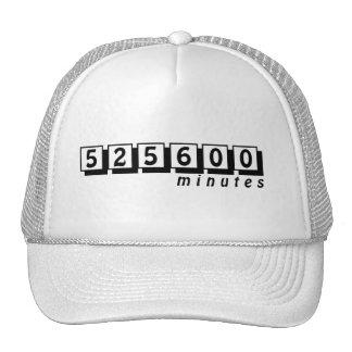 525600 Minutes Hat