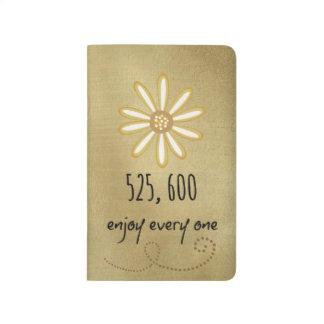 525.600 disfrute de cada minuto cuadernos
