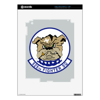 525th Fighter Squadron Decal For iPad 2