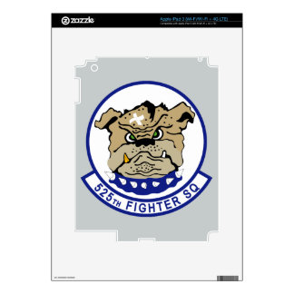 525th Fighter Squadron iPad 3 Decals