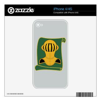 525th Military Police Battalion VIGILANT WARRIOR iPhone 4 Decals