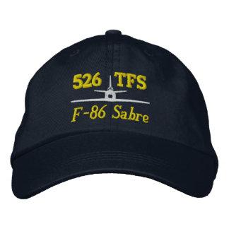 526 gorra del golf de TFS F-86 Gorras De Béisbol Bordadas