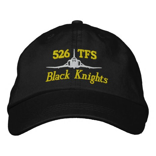 526 TFS F-4 Golf Hat Embroidered Baseball Caps
