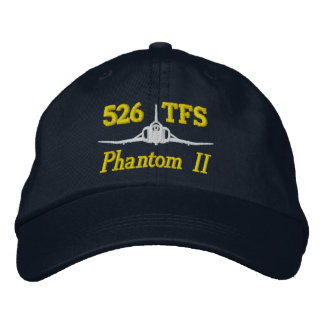 526 TFS F-4 Golf Hat Embroidered Hats