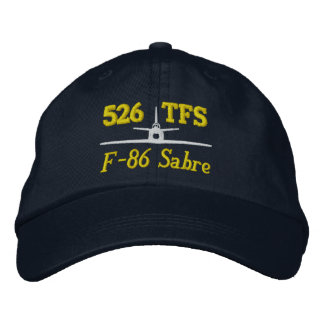 526 TFS F-86 Golf Hat Embroidered Baseball Caps