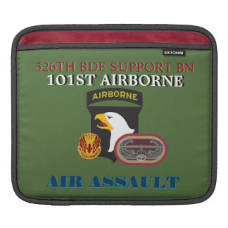 526TH BDE SUPPORT BN 101ST AIRBORNE iPAD SLEEVE