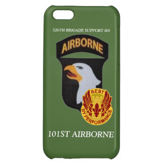 526TH BRIGADE SUPPORT BN 101ST ABN iPHONE CASE