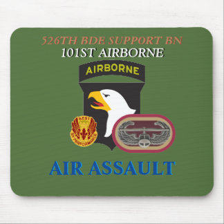 526TH BRIGADE SUPPORT BN 101ST AIRBORNE MOUSEPAD