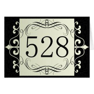528 Area Code Greeting Card