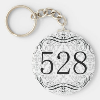 528 Area Code Key Chains