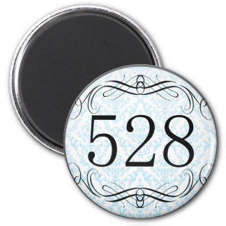 528 Area Code Magnet