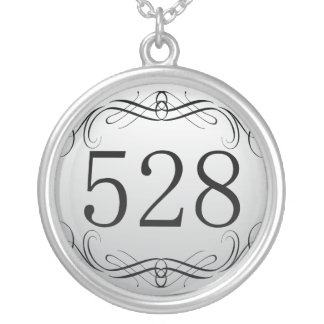 528 Area Code Personalized Necklace