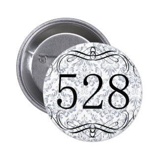 528 Area Code Pinback Buttons