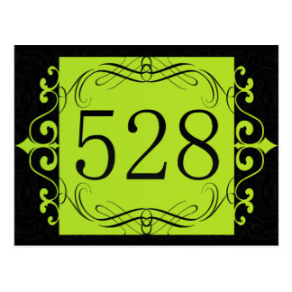 528 Area Code Post Cards
