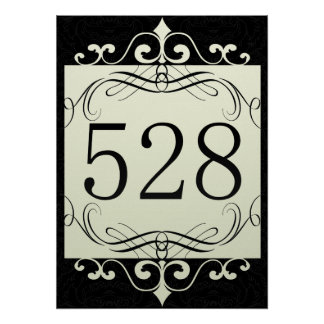 528 Area Code Poster