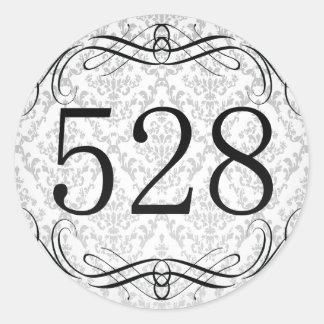 528 Area Code Sticker