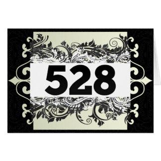 528 GREETING CARD