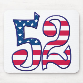 52 Age USA Mouse Pad