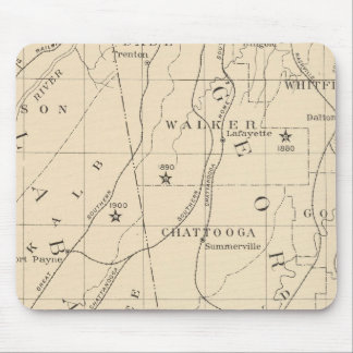 52 Center Negro population 1880-1900 Mouse Pad