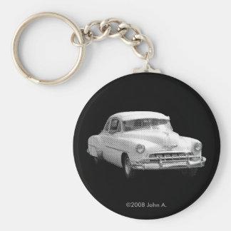 '52 Chevy Deluxe Mono Keychain